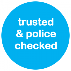trusted and police checked